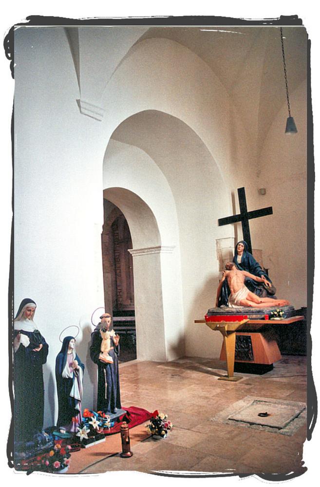Cristo,Madonna e Santi