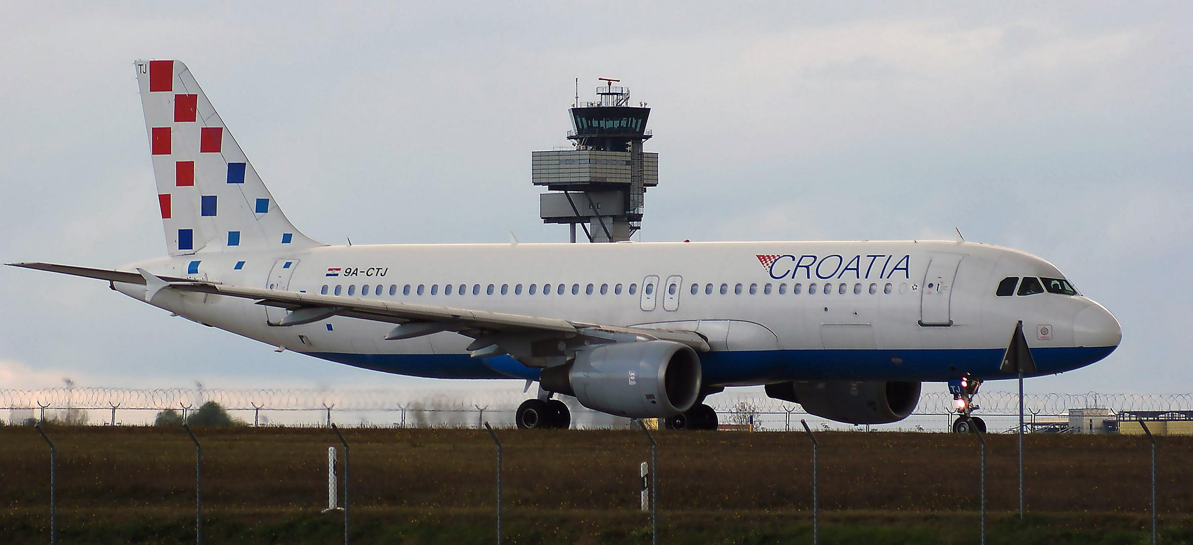 Croatia Airbus A-320