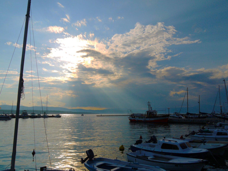 Croatia, Krk, Malinska, Marina