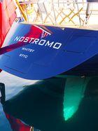 Croatia, Opatija, sailingboat Nostromo