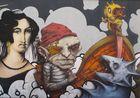 Croatia, Rijeka, Graffito