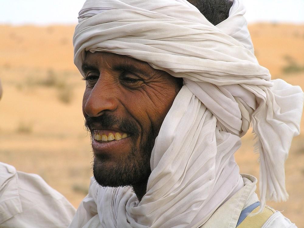 Croisé dans le desert Tunisien