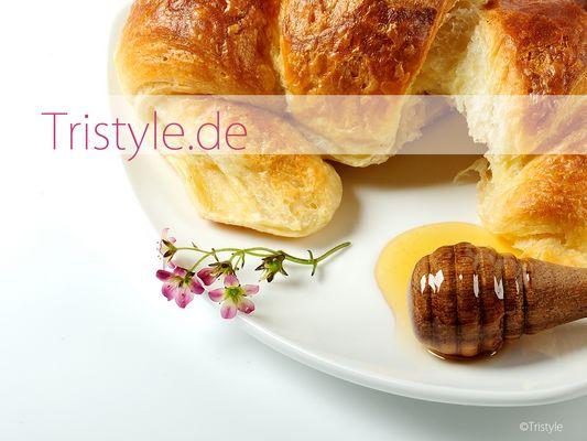 Croissantmit Honig