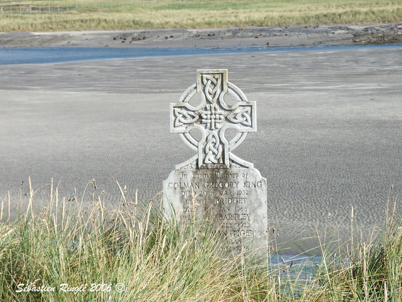 Croix Celtique en bordure d'Océan