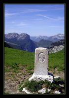 Croix délimitant la Savoie du Dauphiné
