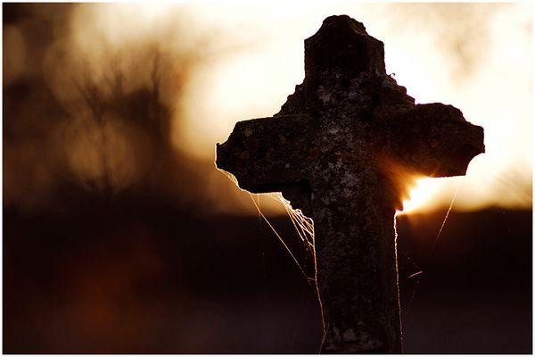 Croix en feu