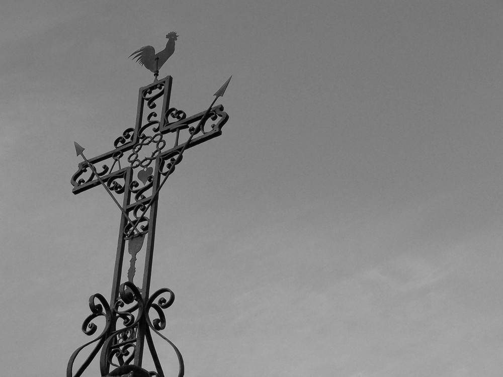 Croix sur ciel...