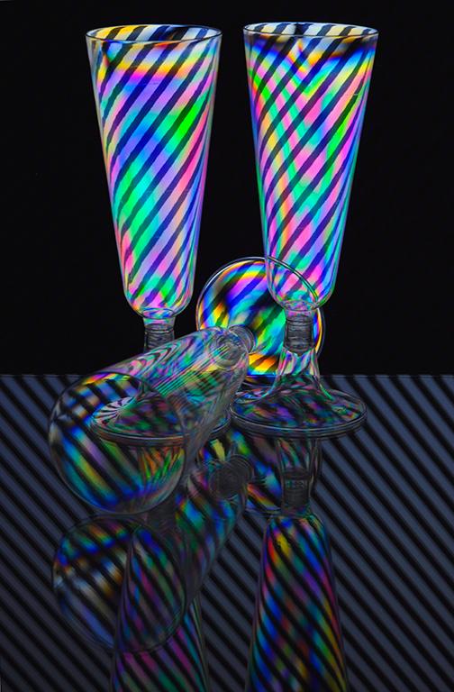 Cross Polarisation Glass 2