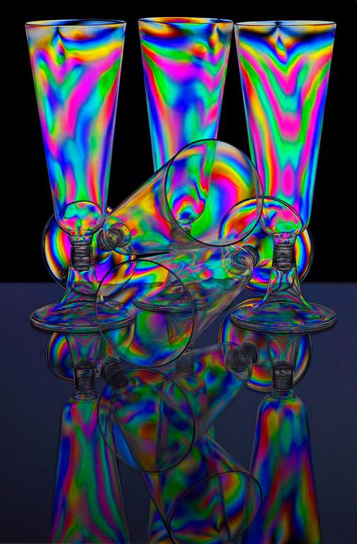 Cross Polarisation Glass