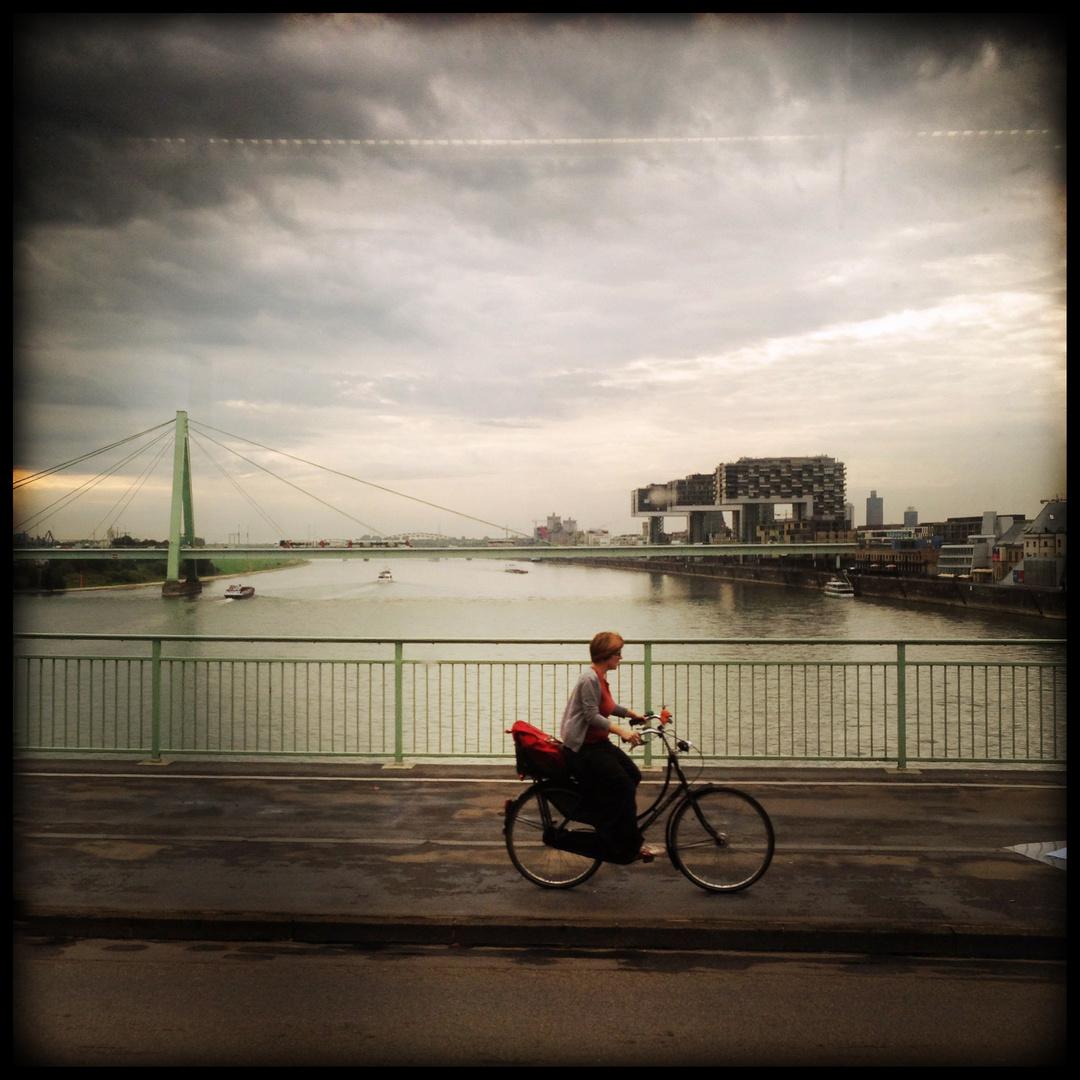 crossing bridge ...