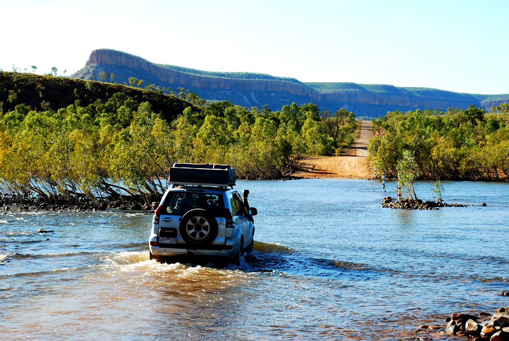 Crossing Pentecost River 2