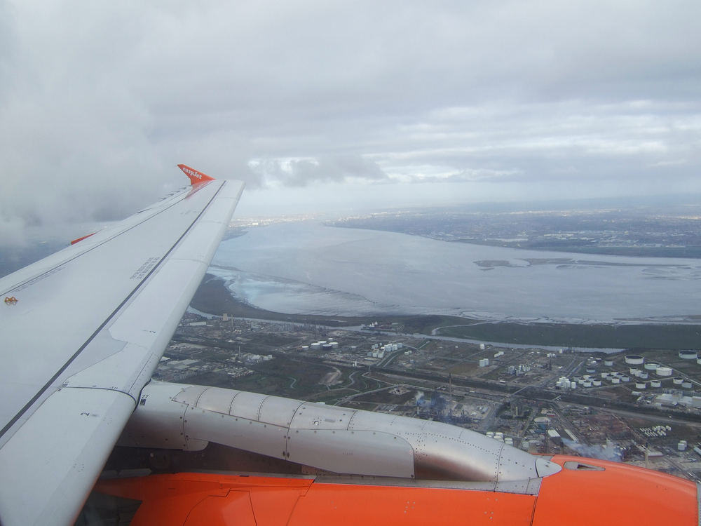 Crossing the Mersey...