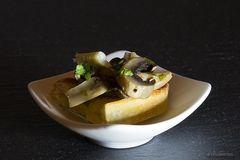 """""""Crostini con insalata di funghi""""..."""