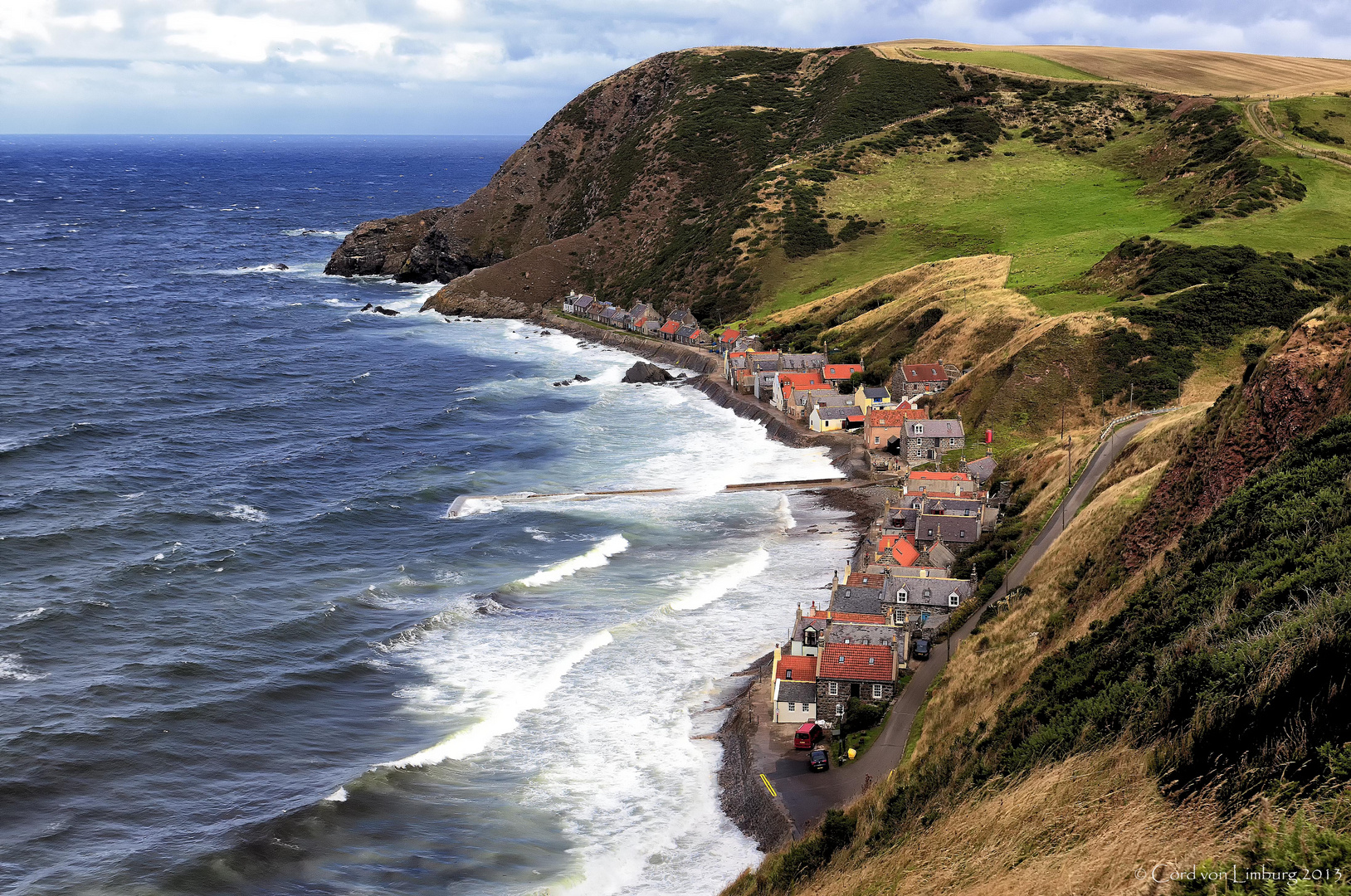 Crovie - Scotland