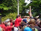Crowdsurfers at Rockstar Mayhem Festival 2012 DTE Detroit