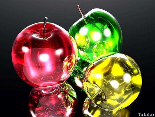 Crystal apples