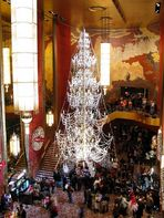 Crystal Tree in Radio City Music Hall - December 2008