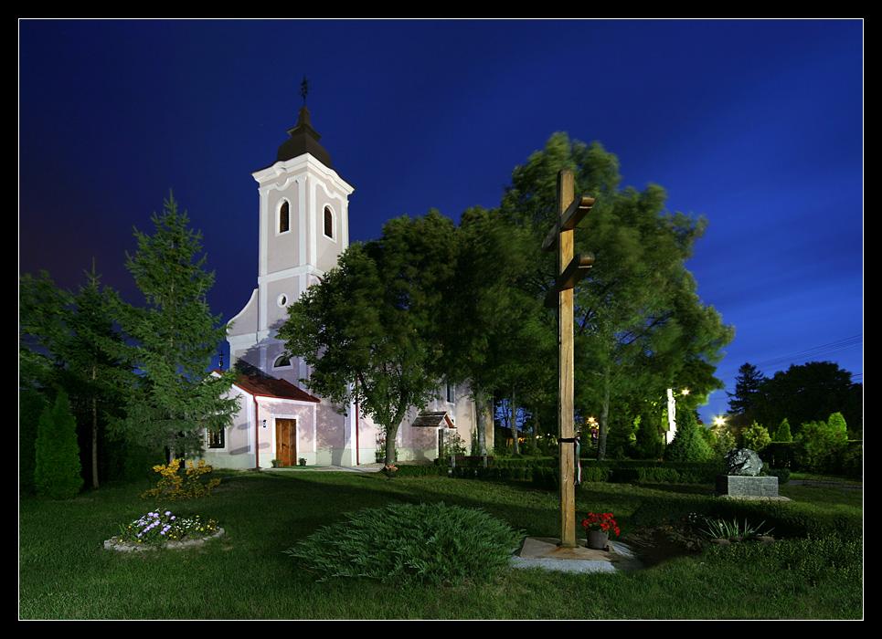 Csapod - Kirche