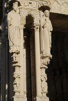 Cthédrale de Chartres portail Nord-détail