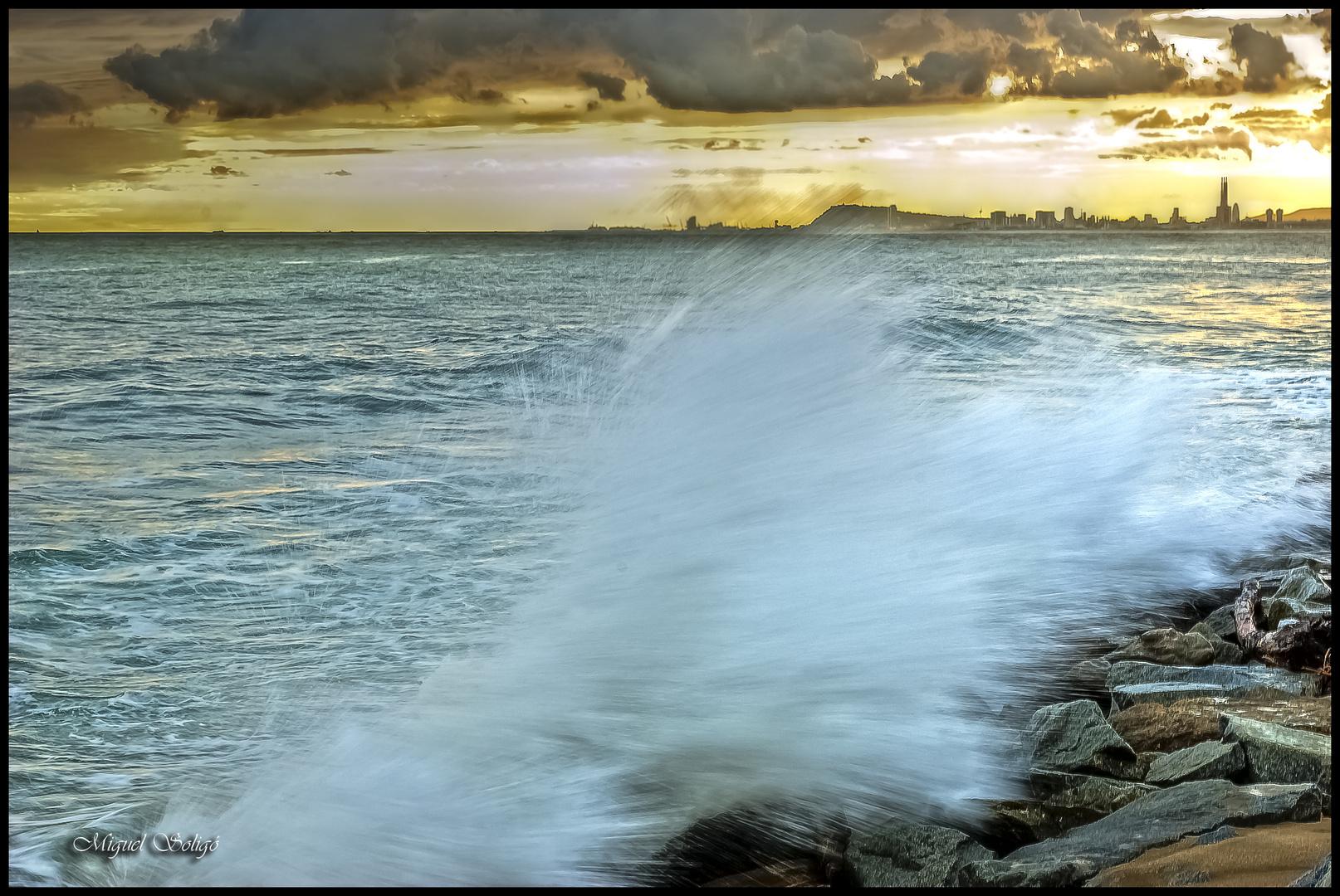 Cuando las olas rompen