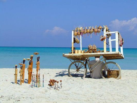 Cuban Beach Vendor
