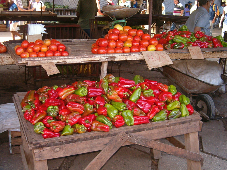 Cubanischer Gemüsemarkt