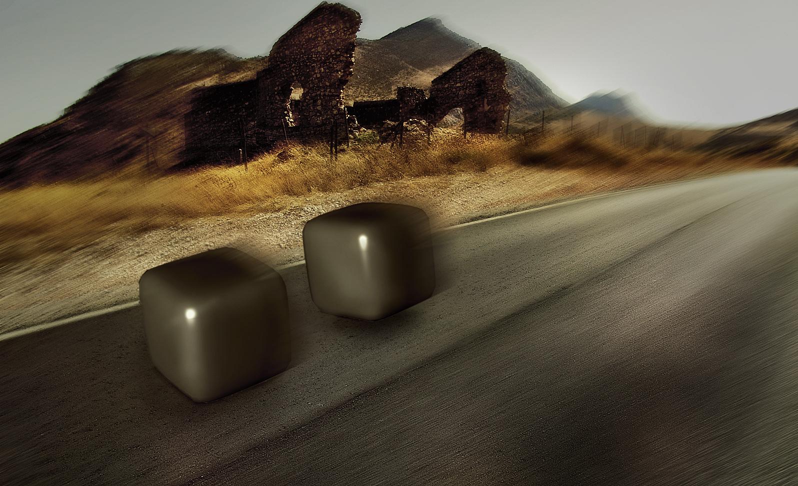 Cubes on the Road - (Erste Schritte mit Cinema 4D)