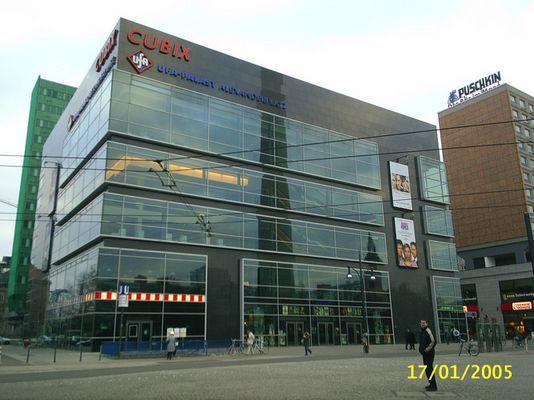 CUBIX UFA-Palast Berlin-Alexander