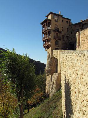 Cuenca: Hängende Häuser