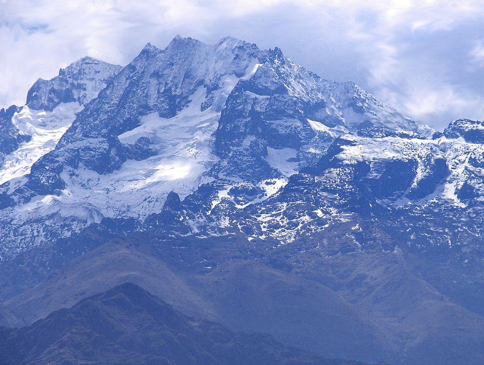 Cumbre andina en Chinchero.