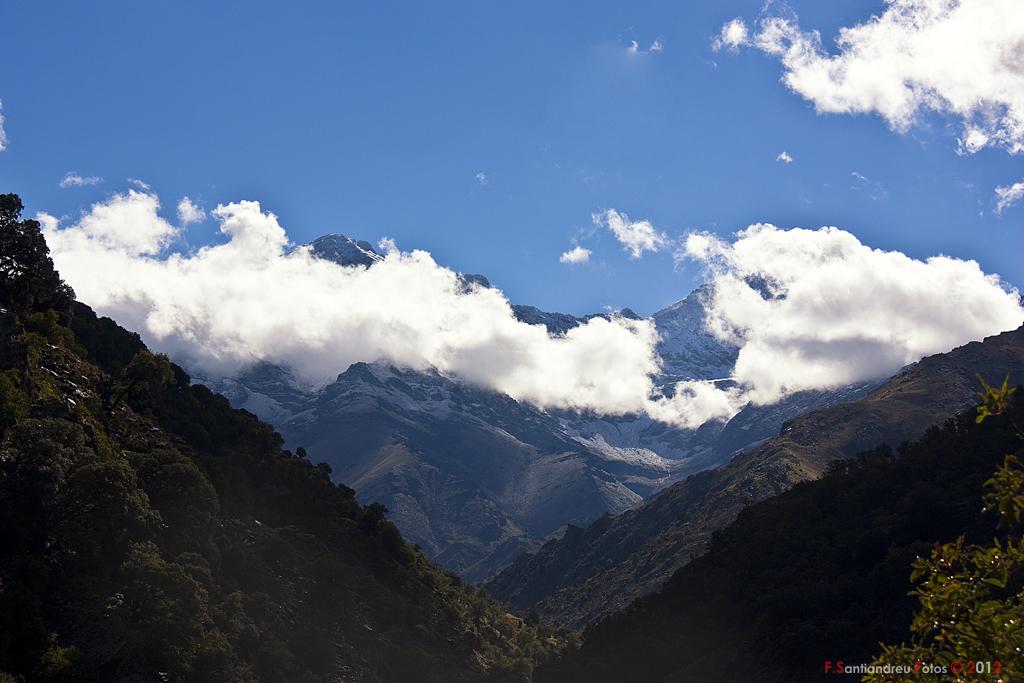 Cumbres Mayores. Alcazaba y Mulhacen. Sierra Nevada