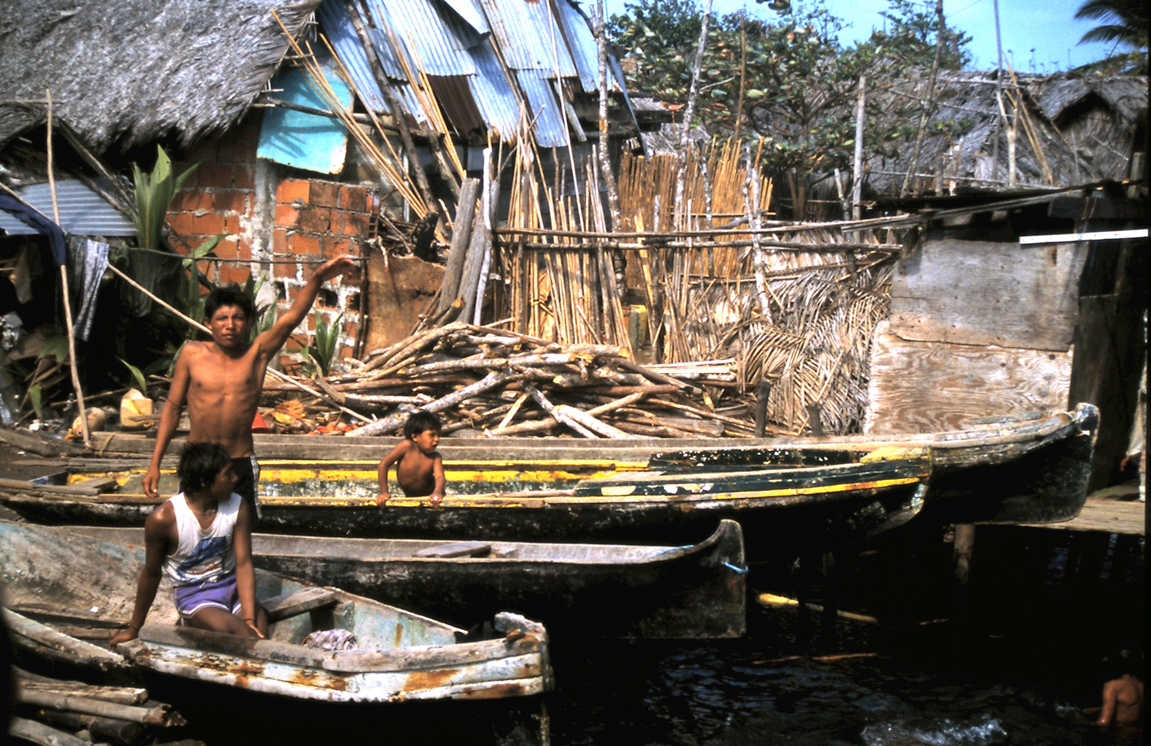 Cunas auf San Blasinseln