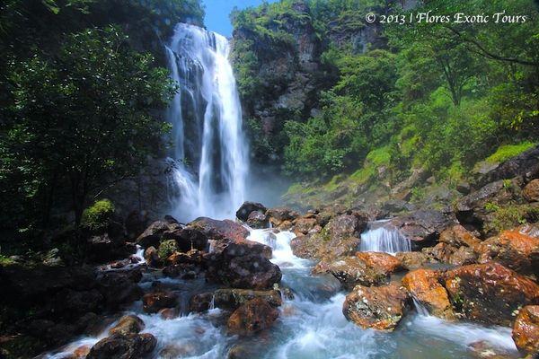 Cunca Rami Wasserfall