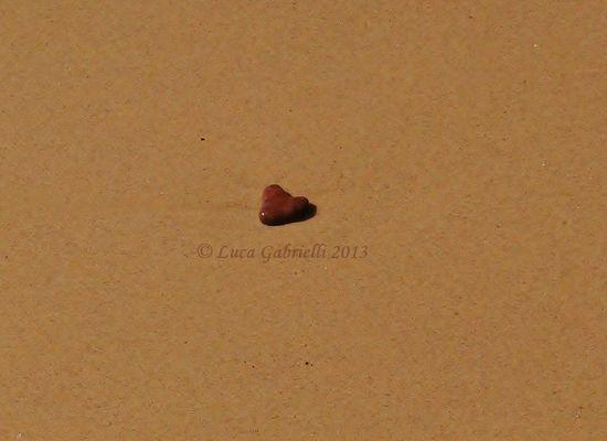 Cuore solitario....sulla spiaggia