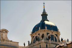 Cupola della Catedrale di Almodena.