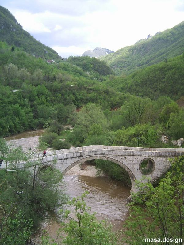 Cuprija, the bridge near Sarajevo, 2005