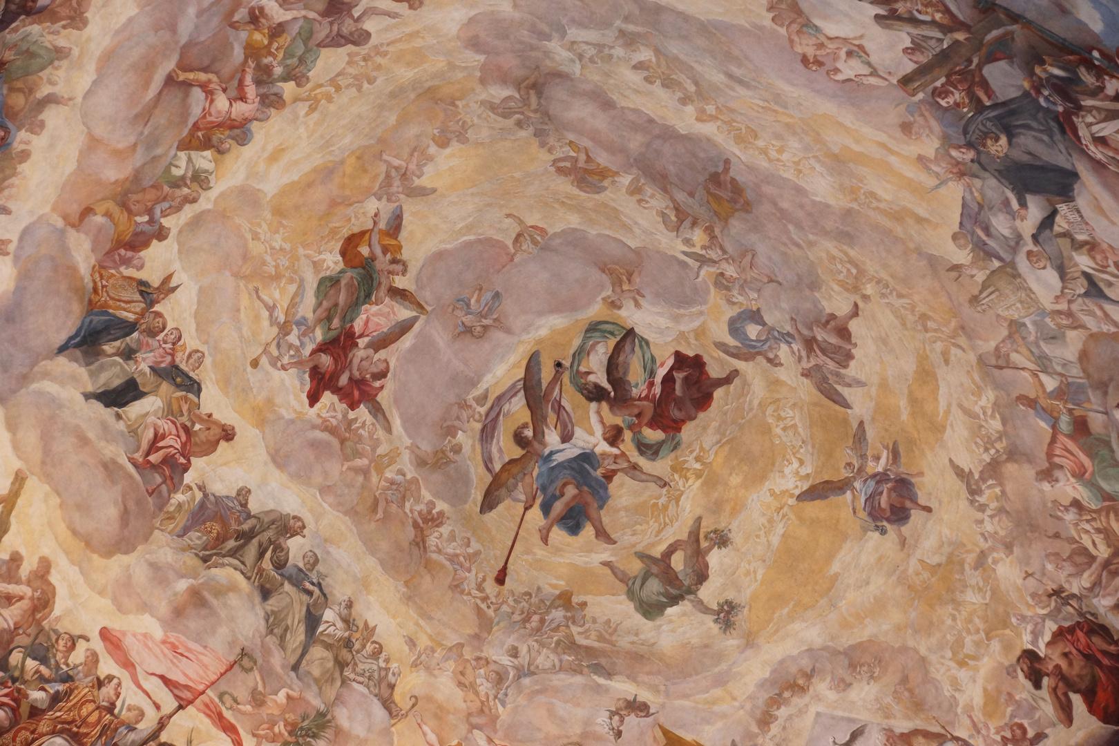 Cúpula de la Basílica de los Desamparados. Valencia. Detalle. 2