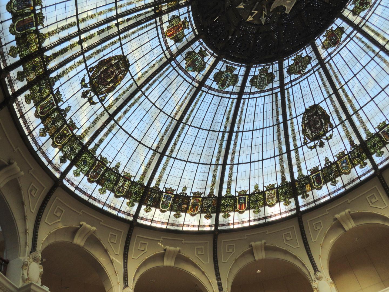 Cúpula vidriada edificio de Correos. Valencia. 3