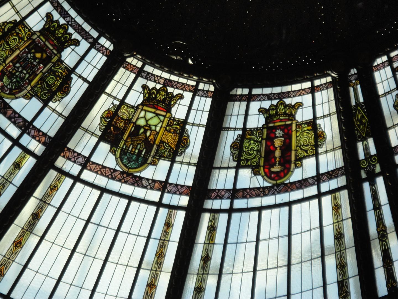 Cúpula vidriada edificio de Correos. Valencia. 4