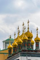 Cúpulas en el Kremlin