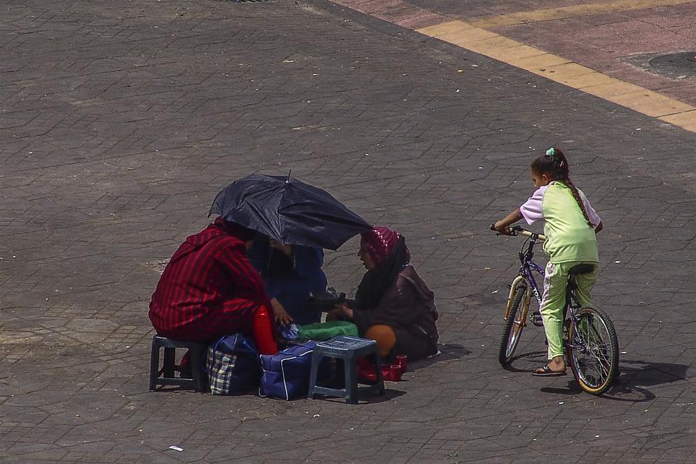 Curiosidad (Plaza Djemaa el Fna Marrakech Marruecos)