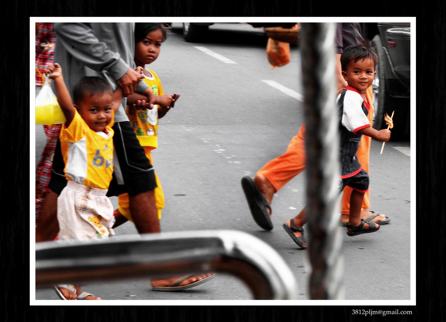 Curiosidad y sonrisas