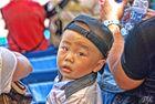 Curioson el nene asiatico