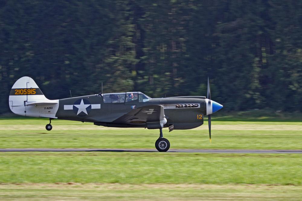 """Curtis P 40 """"Warhawk"""""""