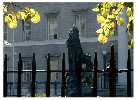 Customs House Statue 1