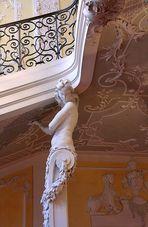 Cuvilliés-Treppenhaus [Detail]