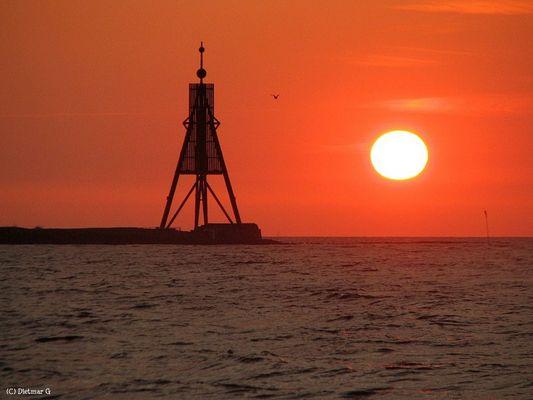 Cuxhaven - an der Kugelbake