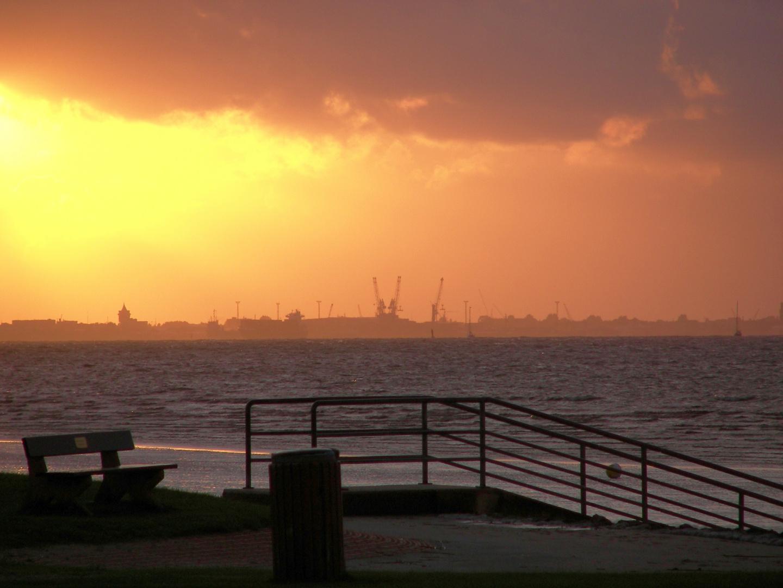Cuxhaven in der Abendsonne