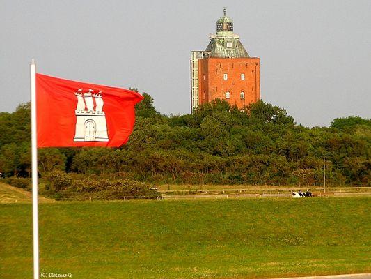 Cuxhaven - Leuchtturm auf Neuwerk