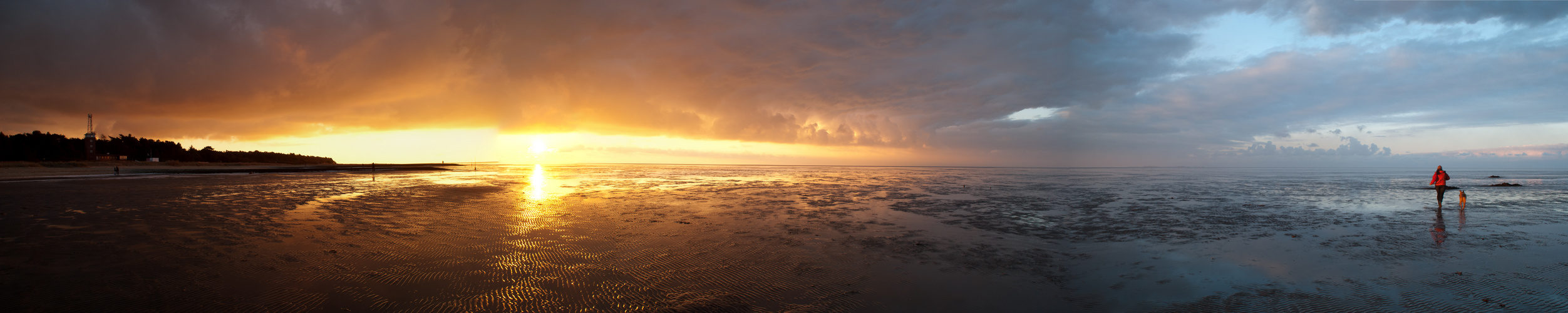 Cuxhavener Sonnenuntergang